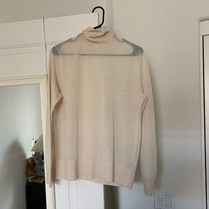 COS turtleneck loose fit shirt